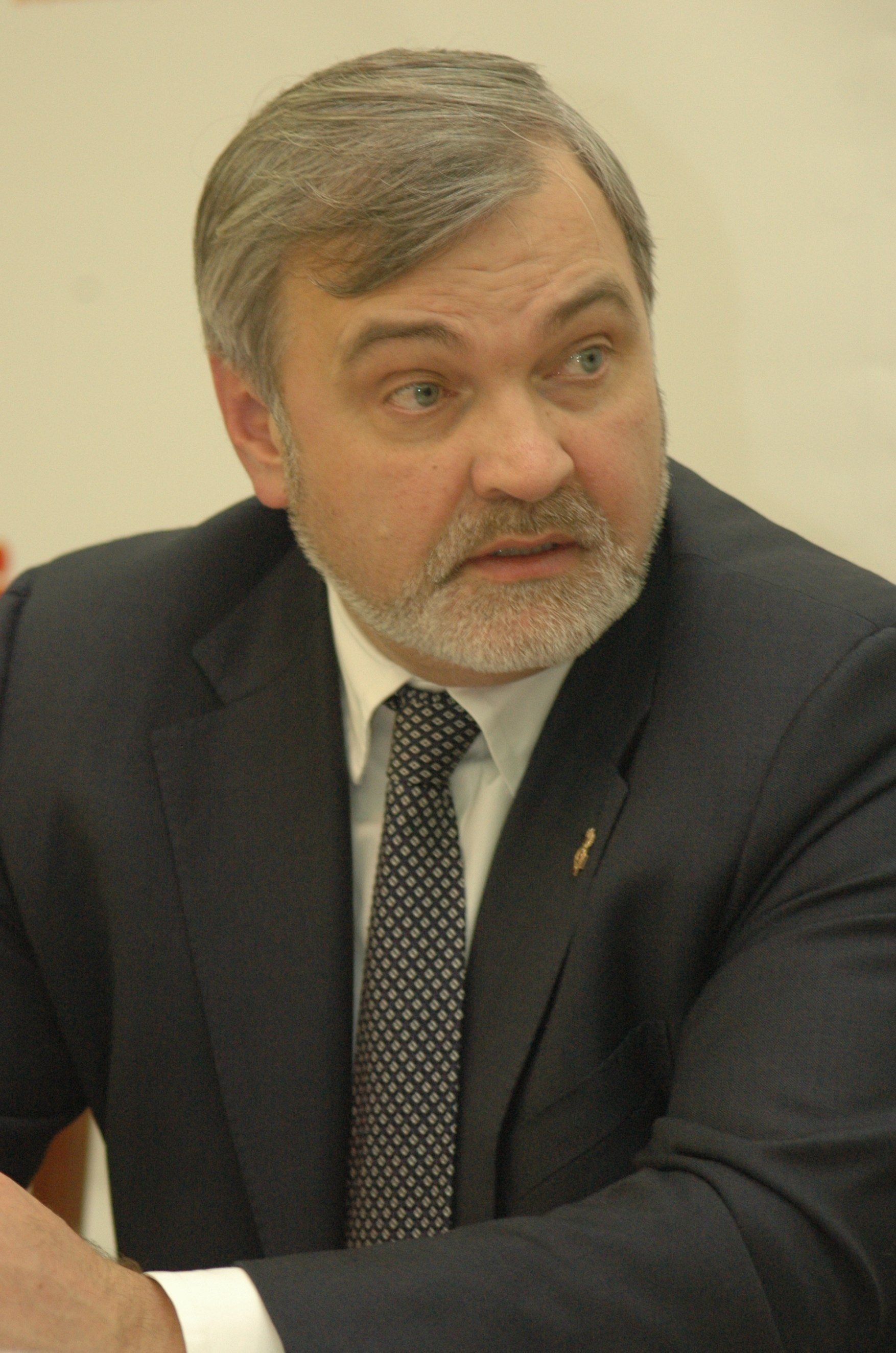 Vladimir Uyba, Head of the Federal Medical-Biological Agency